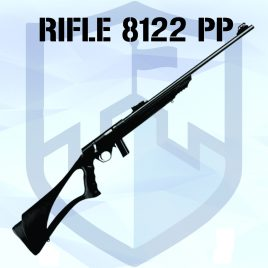 Rifle CBC 8122 Cal .22LR – Bolt Action – Oxi – Polipropileno